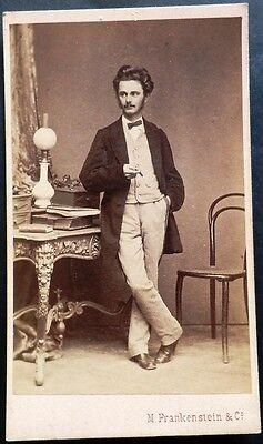 Adel? CDV Photo Kabinettfoto M. Frankenstein & Co