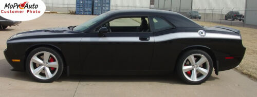 2008-2019 Dodge Challenger Classic Track Side Body 3M Vinyl Stripe Decal Graphic