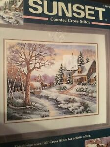 Dimensions Counted Cross Stitch Designed by Carl Valente Winter Wonderland