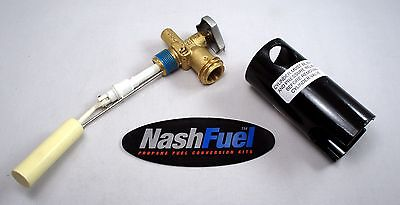WORTHINGTON PROPANE GRILL TANK SERVICE VALVE WITH GAUGE COUPLER OPD BBQ OVERFILL