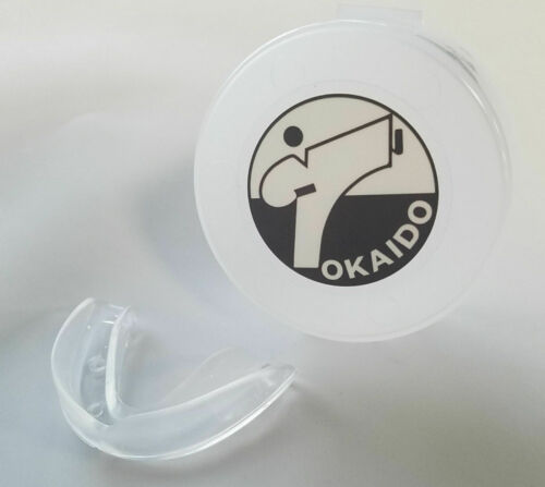 Tokaid Mouth Guard & Case set Karate MMA Boxing Martial Arts Mouth Guard w/Case
