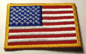Ecusson brodé drapeau USA