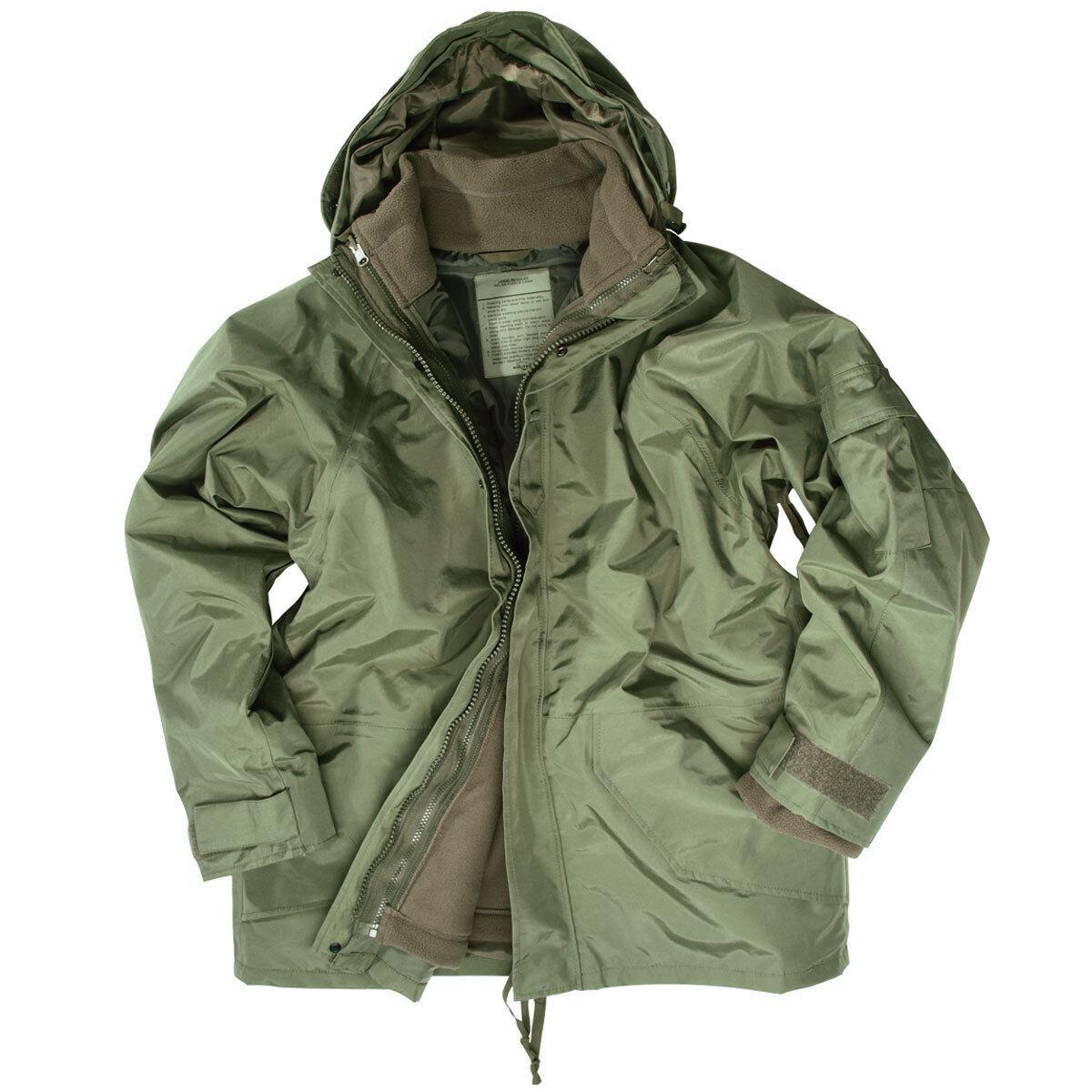 Protezione Umidità Giacca con di Pile S S-3XL,Us Army Inverno Impermeabile Impermeabile Inverno b41682