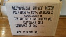 Cd V 720 Radiation Detection Survey Meter Geiger Counter Cdv 720 Model 2