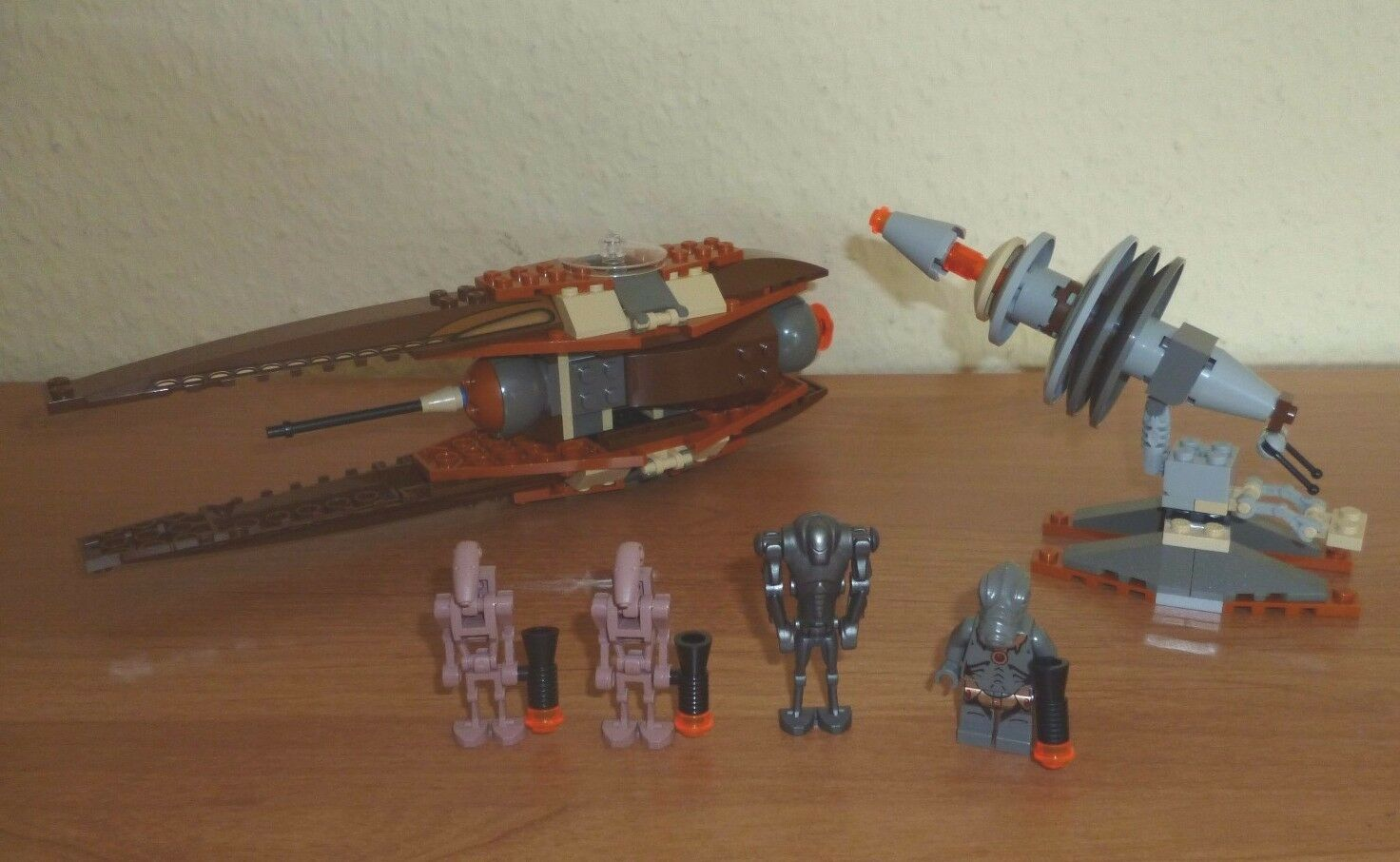 LEGO Star Wars Wars Wars   4478 Geonosian Fighter TOP 76cccb