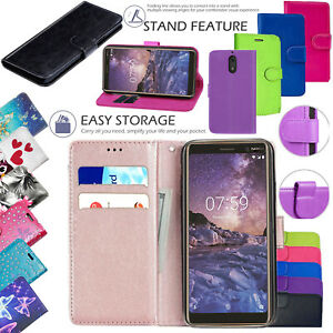 promo code c3e7e b8309 Details about For Nokia 3.1 New 100% Genuine Leather Stand Flip Wallet  Cover Phone Case