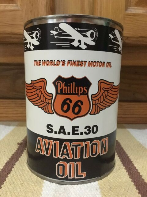 Fleetwood Aero  Motor Oil Can Sign Aviation Gasoline Vintage style metal sign