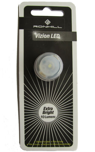 Ronhill DEL Bouton extra lumineux clignotant lumière blanche