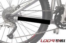 Mountain Bike Chain Protector Frame Guard, Satin Black Zoom Sport