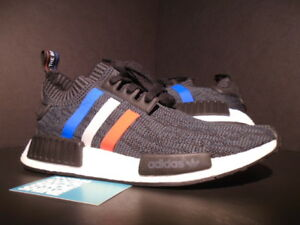 d9d6d0f78 ADIDAS NMD R1 PK PRIMEKNIT TRI COLOR CORE BLACK WHITE RED BLUE XR1 ...
