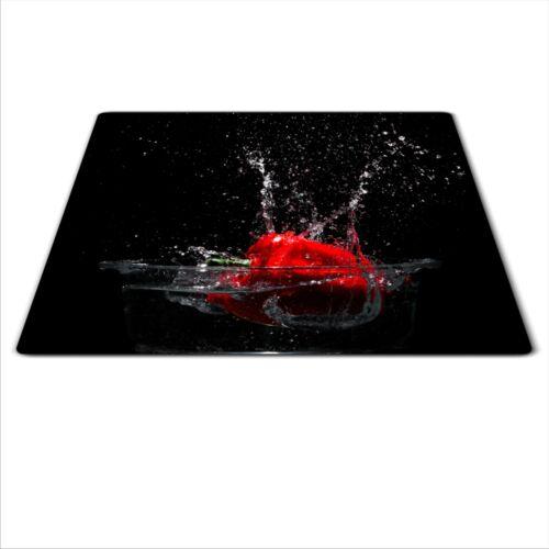 Verre à découper planche induction plaque chauffante en céramique Couvercle Plan De Travail économiseur 60x52cm