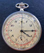 Doxa antica Military RARE OROLOGIO DA TASCA schaltrad Cronografo del 1925