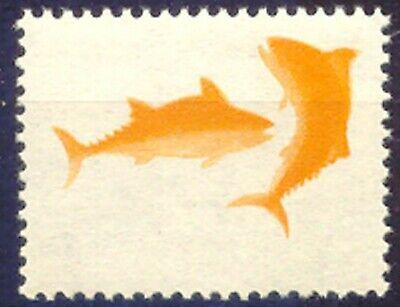 Diplomatisch Indonesia 1969 5-year Plan Fishing 40 R U/m Major Variety: Missing Colors