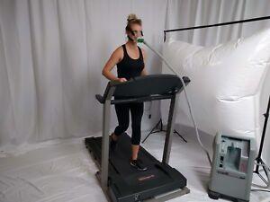 Ewot Exercise with Oxygen Training Reservoir 1 Port Low Budget w//Tripod SEWOT