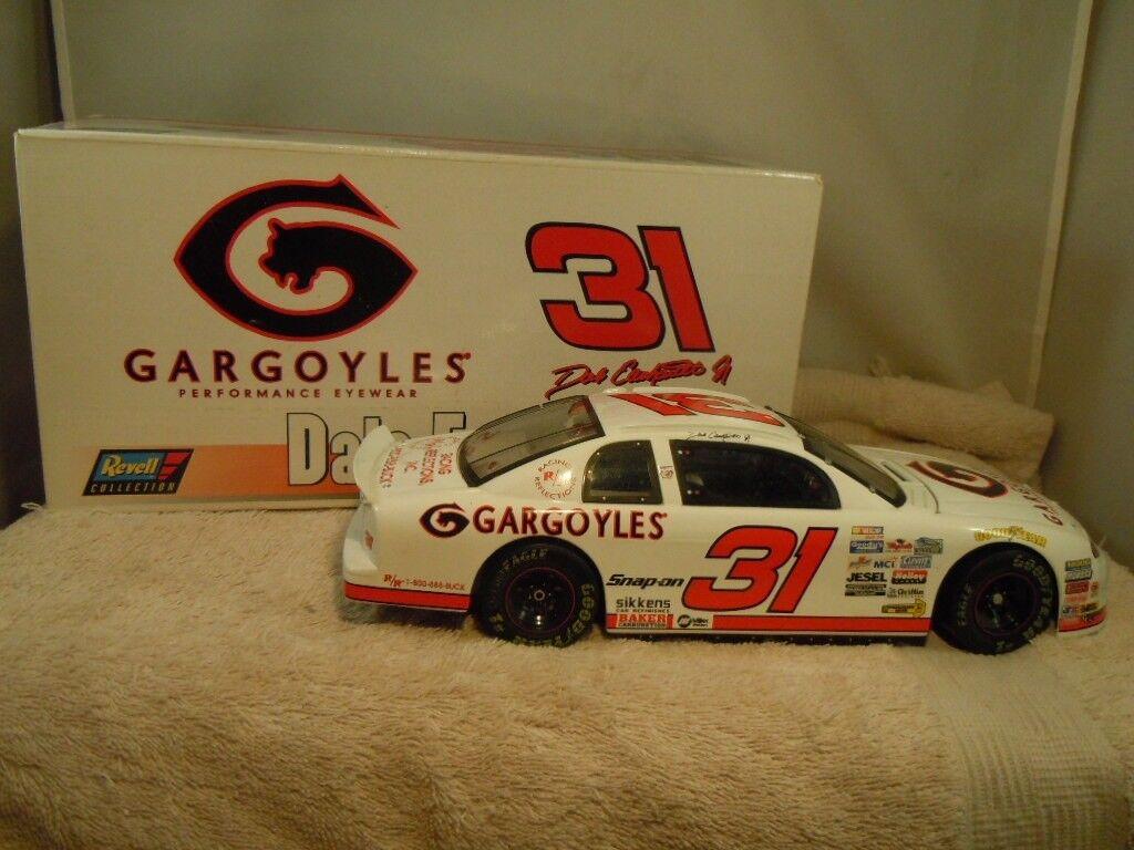 1997 REVELL  31 DALE EARNHARDT JR GARGOYLES 1 18 DIECAST CAR W  BOX