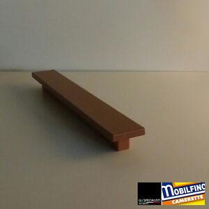 Maniglia-lineare-contract-armadio-b-amp-b-ciliegio-cherry-handle-interasse-192mm