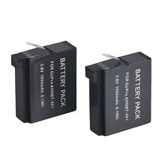 LOT de 2 BATTERIES pour GOPRO  HERO 4 - AHDBT-401  - Battery pack 2x