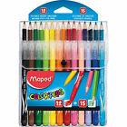 Maped 897412 Colorpeps Felts Pencils Combo