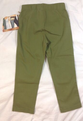 NEW MIRACLESUIT Skinny Pants Size 6 Army Green Crop Ankle Stretch Shape Jeans