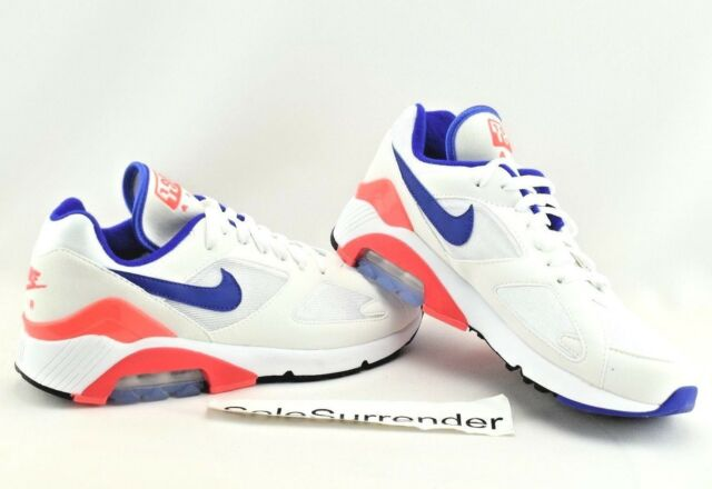 0b54e966da4011 Nike Air Max 180 - CHOOSE SIZE - 615287-100 Ultramarine Solar Red OG Blue
