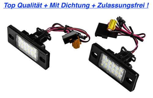 6.0 W12 PSK 2x TOP LED Kennzeichenbeleuchtung VW Touareg 7LA 7L6 7L7