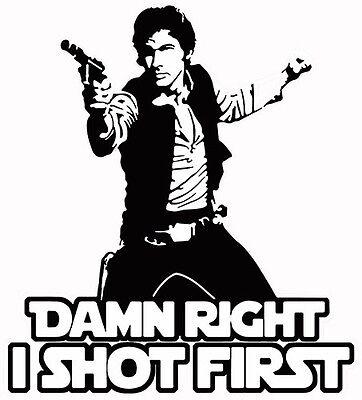 Storm Trooper sticker VINYL DECAL Sci-Fi Fantasy Star Wars Empire Strikes Back