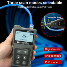 Lcd Lan Cable Inline Poe Checker Network Wire Length Meter Voltage Tester Scan