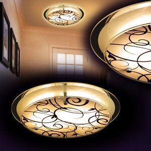 50W LED Deckenleuchte Deckenlampe Rund Badleuchte Wohnzimmer Küche Flur Warmweiß