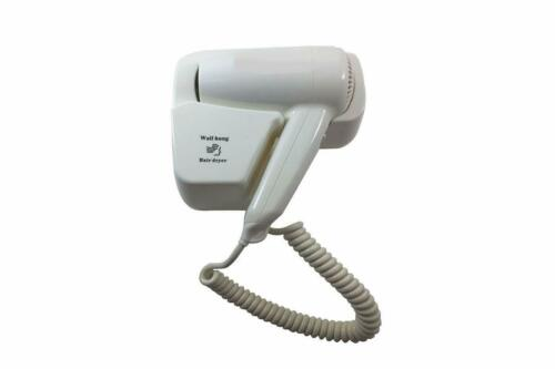 ASCIUGACAPELLI PHON DA PARETE MURO CASA ALBERGO 1200W HAIR DRYER