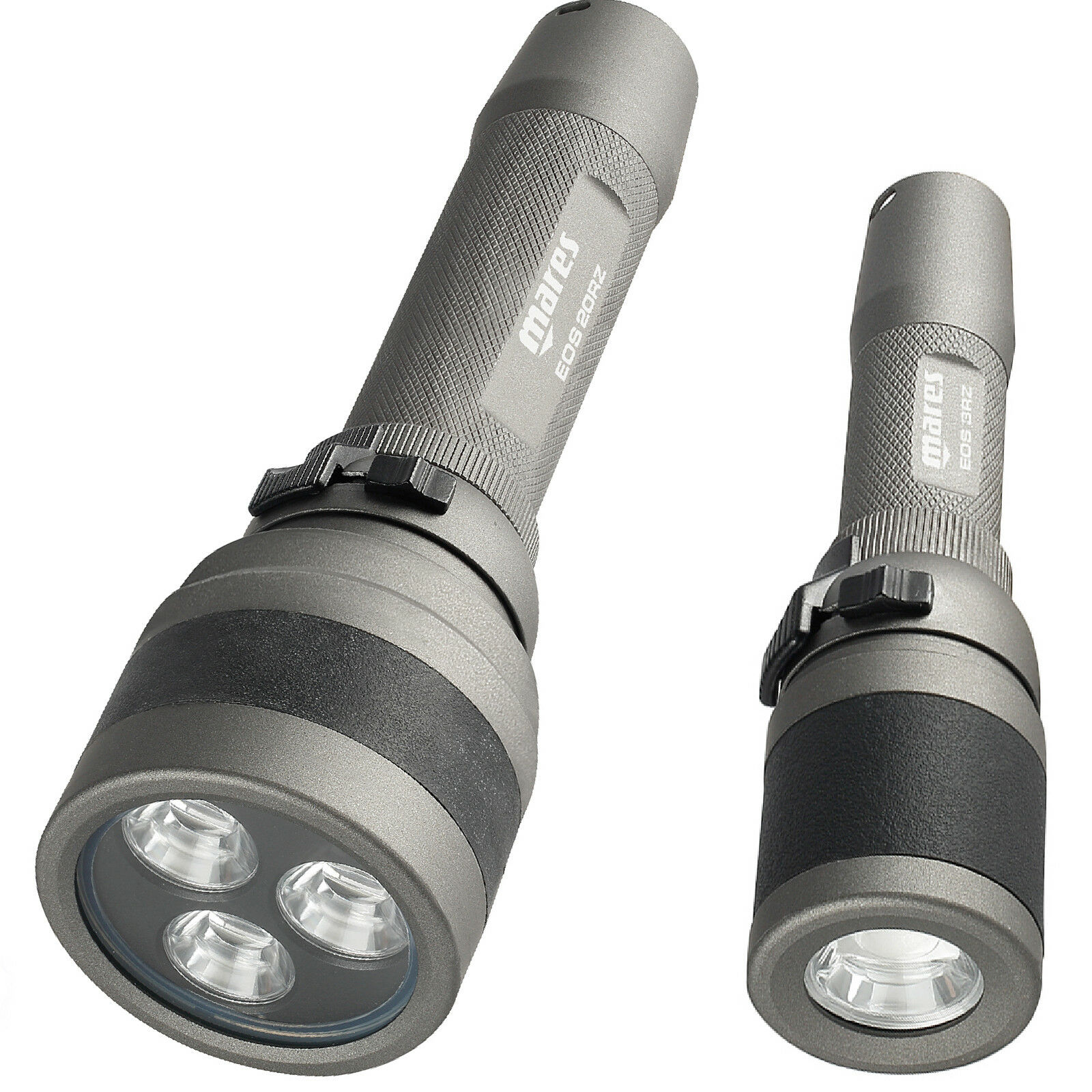 RO1 RO1 RO1 coppia Lampade MARES EOS 20RZ + EOS 3RZ metal LED torch Ricaricabili d1d41f