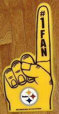 Pittsburgh Steelers Foam Finger #1 Fan - 18 in! Great for Game Day Party!