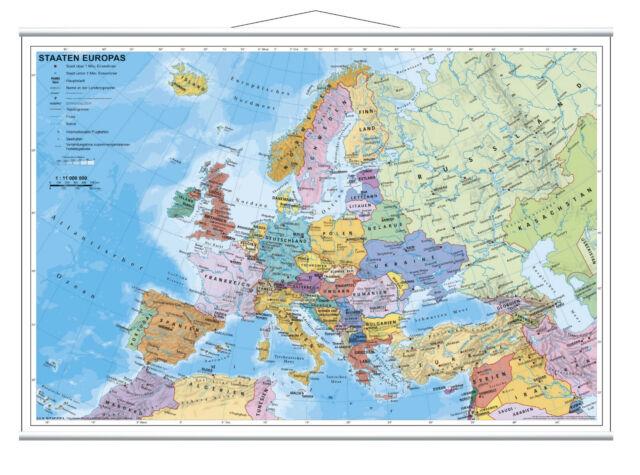 Staaten Europas Mini 63x46cm (978-3-929627-16-9)