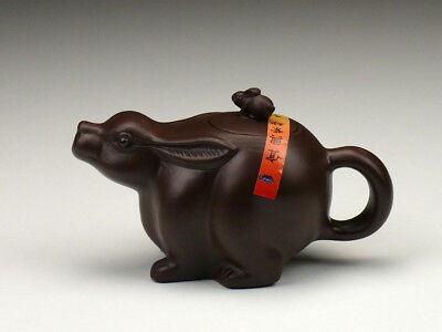 Hahn Teekanne Chinesisches Horoskop Tierkreiszeichen Tierzeichen Yixing Ton