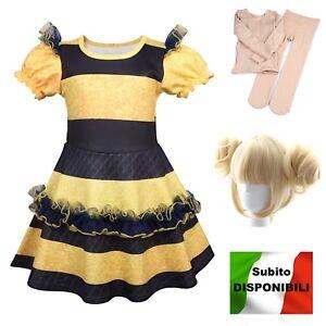 Simile-Lol-Queen-Bee-Vestito-Carnevale-Bambina-Tipo-Lol-Cosplay-Dress-LOLQBEE2