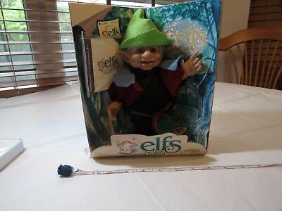Elfs The Great Forest collection 6500 Grandpa Orlynn Doll Berenguer elf figure