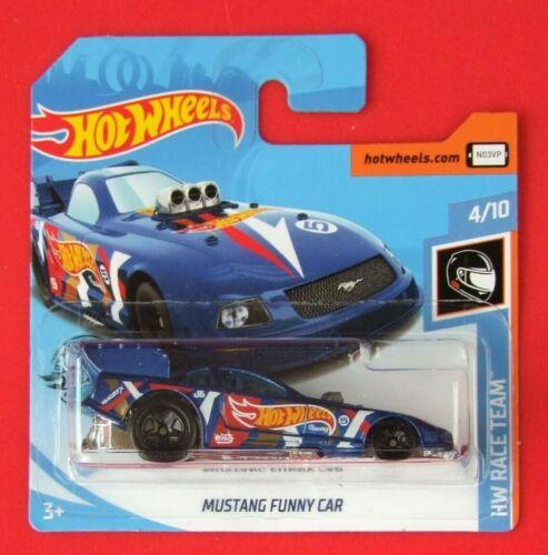 Hot Wheels 2019   MUSTANG FUNNY CAR    ==HW RACE TEAM==  212//250 NEU/&OVP
