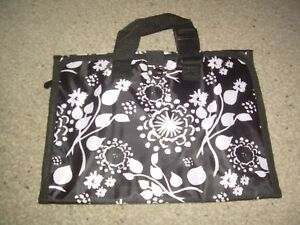 Image Is Loading 31 Thirty One Timeless Beauty Bag Black Fl