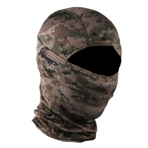 Tactical Hunting Balaclava Headgear Face Scarf Shield Neck Gaiter Headwear Hats