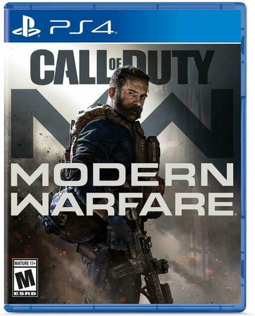 Call Of Duty Modern Warfare PlayStation 4, 2019 pre-owned  - $35.00