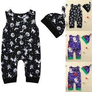 Newborn-Baby-Boys-Girls-Pumpkin-Romper-Jumpsuit-Hat-Halloween-Party-Outfits-Set