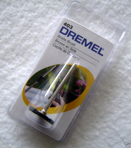 New Lot of 10 Dremel 403 Bristle Brush