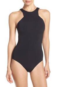 Seafolly-High-Neck-One-Piece-Swimsuit-U-S-sz-8-AUS-sz-12