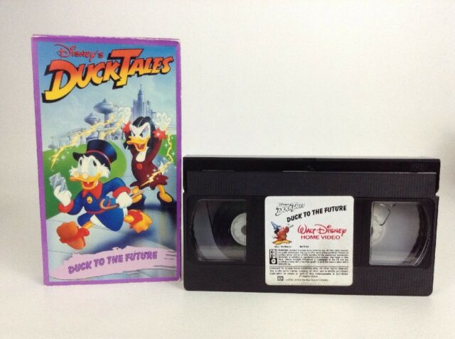 Vintage Disney Duck Tales VHS Duck To The Future # 768
