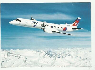 Wir verkaufen Zeit OLT Saab 2000 Airline issue postcard