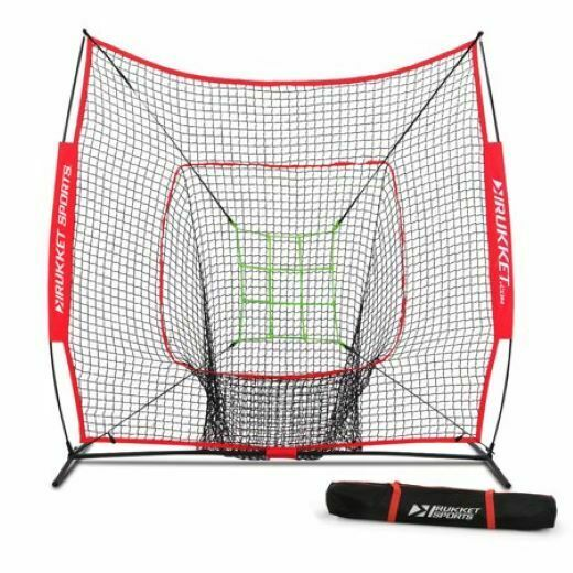 Hitting Net Bundle Baseball Softball 7 x 7 Batting Practice Training Screen