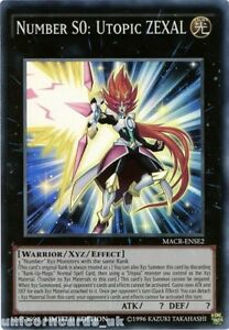 MACR-ENSE2 Super Rare Limited Edi YGO-1x-Near Mint-Number S0: Utopic ZEXAL