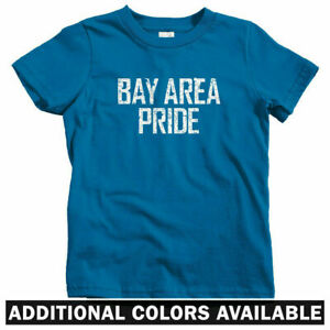 San Francisco Oakland Bay Area Represent Kids T-shirt Baby Toddler Youth Tee