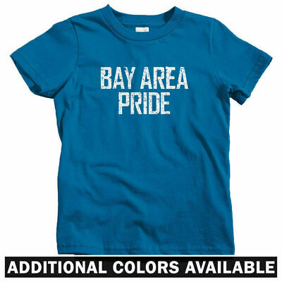 San Francisco Oakland Baby Toddler Youth Tee Bay Area Represent Kids T-shirt