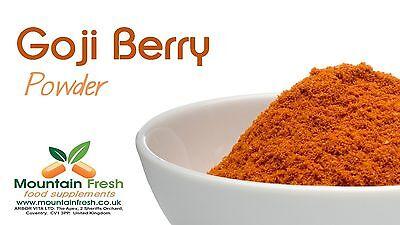 Organic Goji Berry Powder Superfood Natural Antioxidant Source 50g FREE UK Post