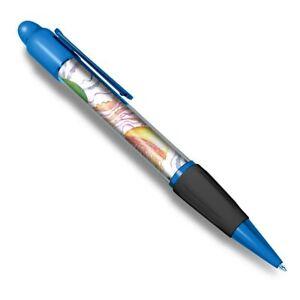 Blue-Ballpoint-Pen-Colourful-Jellyfish-Sea-Ocean-Office-Gift-14447